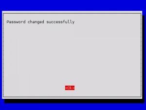 raspi-config : change_pass