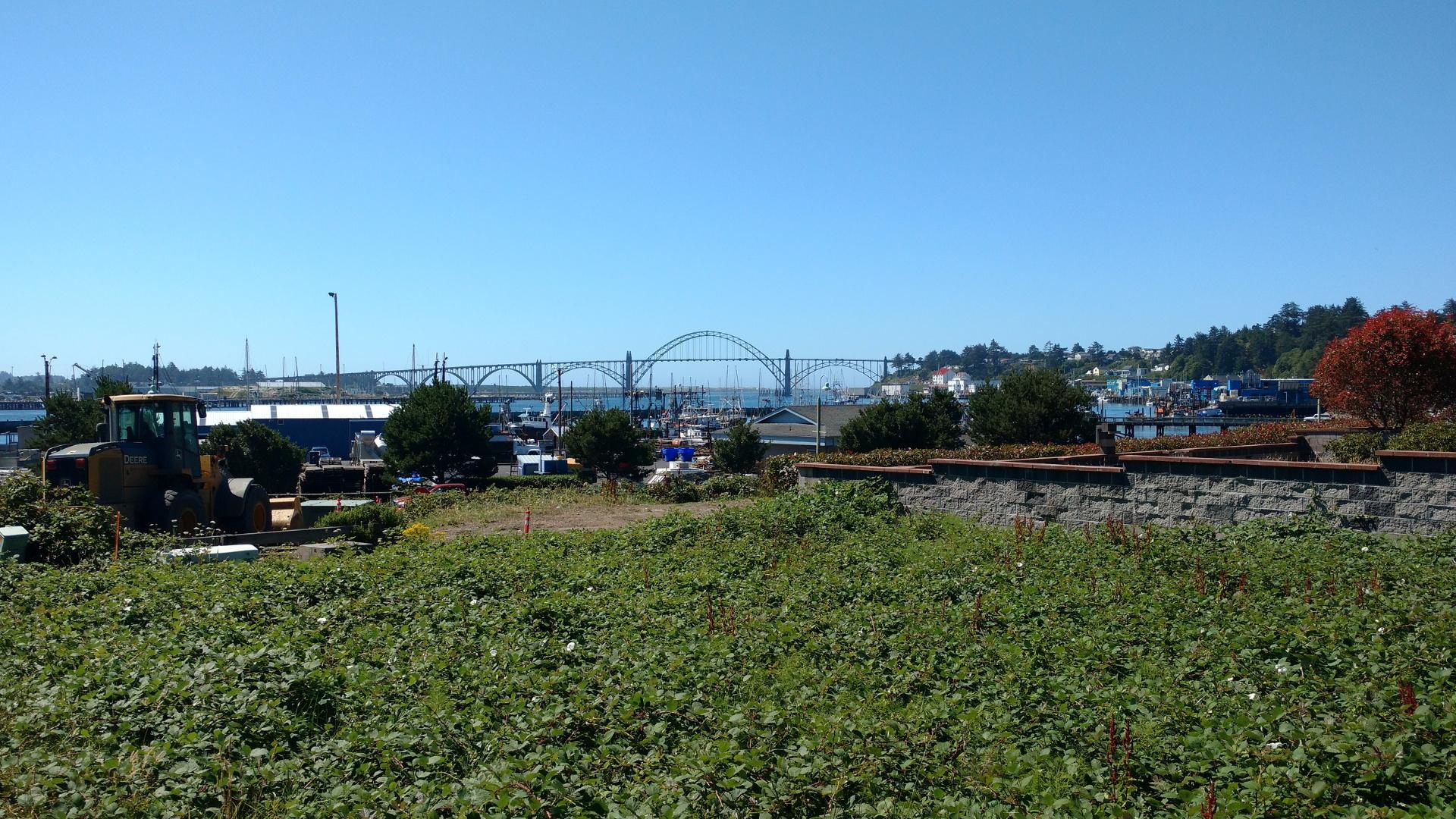 ニューポートの大きな橋