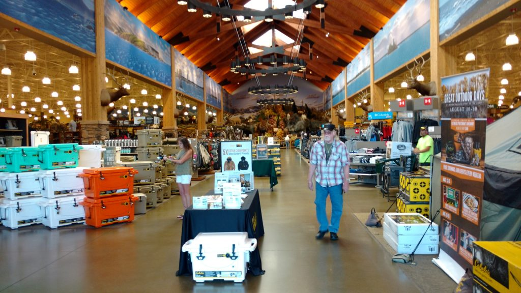Cabela's Tulalip store