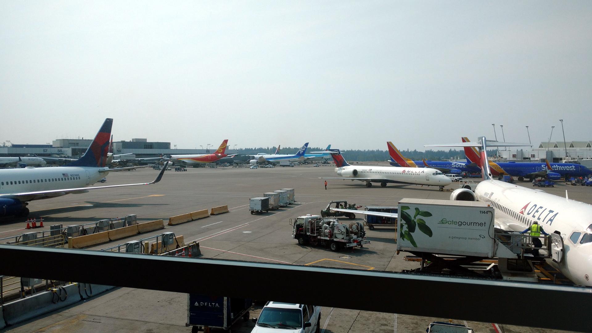 ANAの飛行機はSゲート