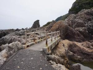 室戸岬散策:遊歩道