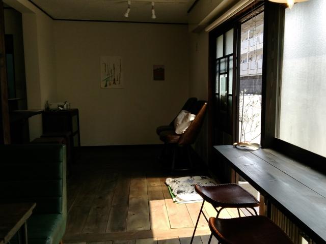 チェルベロコーヒー開店準備中20170319