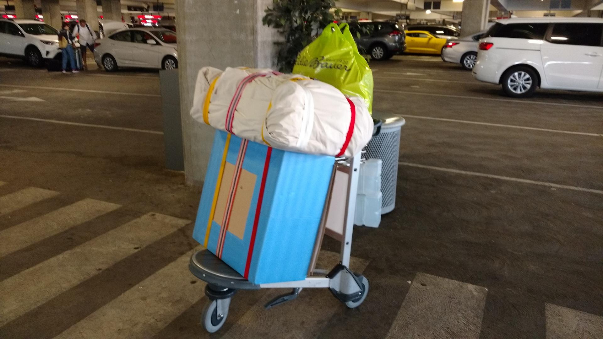 荷物の合計60kg超
